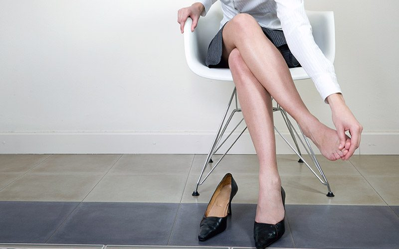 Diabéticos, Consejos para pies, tobillos y piernas hinchadas